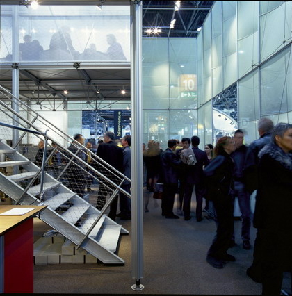 At the Euroshop 2002, PILA mini enclosed the Burkhardt Leitner