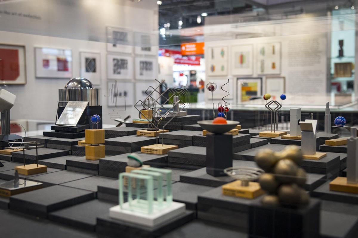 """""""THANK YOU BURKHARDT, Burkhardt Leitner's 50 Years in Design"""" im Design Center Baden-Württemberg"""
